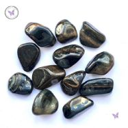 Blue Tiger Eye Tumble Stone